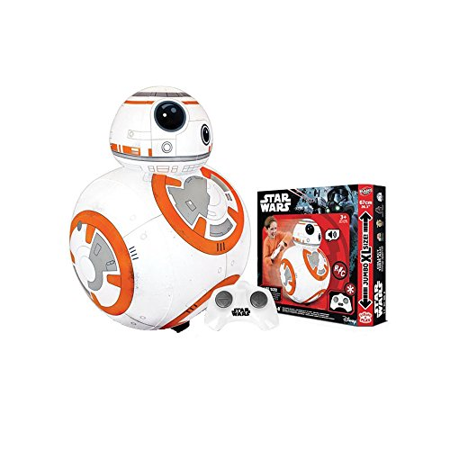 Star Wars BTSW012 R/C Inflatable Jumbo XL BB-8, Mixed