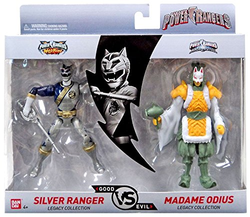 Bandai Power Rangers Legacy Collection Yellow /& SPINFERNO
