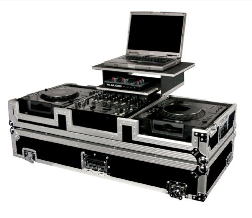 (Odyssey FZGS12CDJW CD DJ Coffin Case with Wheels )