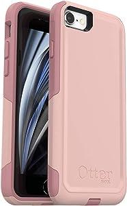OtterBox Commuter Series Case for iPhone SE (2nd gen - 2020) - Ballet Way (Pink Salt/Blush)