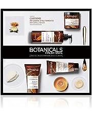 L'Oréal Paris Cofanetto Regalo Trattamento Completo per Capelli Secchi Botanicals Cartamo Infusione di Nutrimento, Include 4 Prodotti