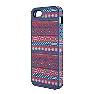 Speck Products FabShell Fabric-Covered Case for iPhone 5 & 5S  - DigiTribe Pink/Blue