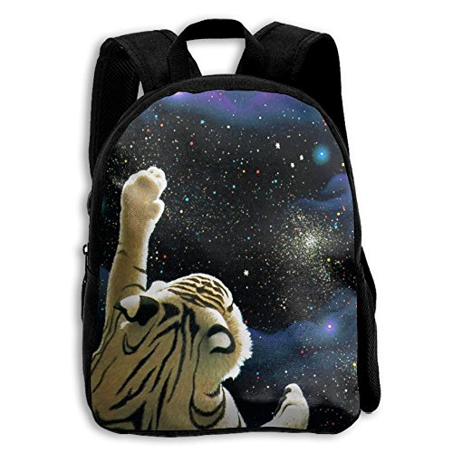 Movie Director Costume Girl (Laser Tiger In Space Functional Design For Kids School Backpack Children Bookbag Perfect For Transporting For Casual In 4 Season)