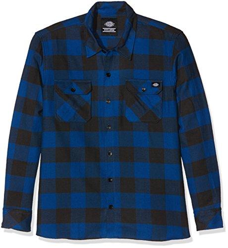 blue Dickies Sacramento Uomo camicia Blu SwxFPUq