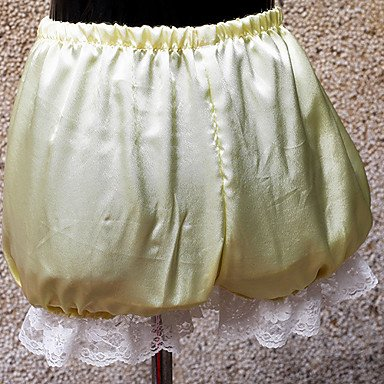 Classic Bloomers - QINF 4 Color Satin Classic Lolita Bloomers with White Lace