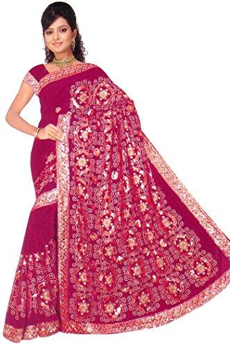 Sari Fabric Belly Dance Dress - 4