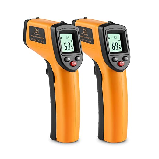 Accurate Instant Readings Fever Temperature Measure Tool for Thermal Industrial Non-Contact Infrared Thermometer Body 1 Pack