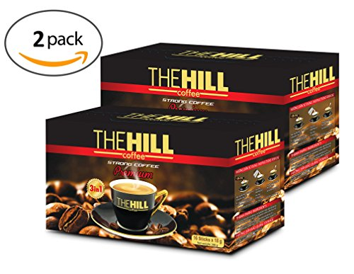 Strong 3-in-1 Coffee by the Hill Coffee. Premium Instant Vietnamese Coffee with Non Dairy Creamer and No Artificial Sweetener. 32 Servings. 16 Strong Instant Coffee Packets Per Box. 2 - Italian Camp Hill