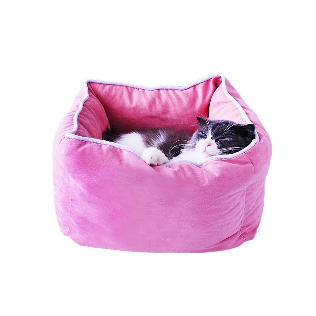 C_-1X Cama para Gatos/Perrera, Nido para Mascotas, Caseta para Gatos, Cama para Mascotas, Cuatro Estaciones Universales, Casita para Perros, ...