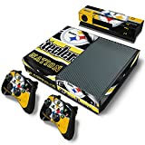 FriendlyTomato Xbox One Console and Controller Skin Set – Football NFL – PlayStation 4 Vinyl