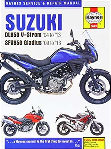 Suzuki dl650 v strom sfv650 gladius 04 13 haynes service and suzuki dl650 v strom sfv650 gladius 04 13 haynes service and repair manuals john haynes 9780857336439 amazon books fandeluxe Gallery