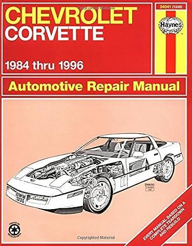 Chevrolet Corvette 1984 thru 1996 Automotive Repair Manual - 1996 Corvette