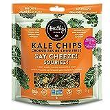 Healthy Crunch - Organic Kale Chips - Artisanal Allergen-Free, Non-GMO, Gluten-Free, Corn-Free, Soy Free (Say Cheeze!, 35g)