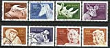 Guinea-Bissau - 1989 8v. Canceled Like New. African Wild Animals.