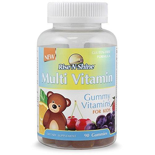 Kids Gummy Bear Multi Vitamins; Guaranteed to be the Best Tasting Gummy Vitamins on the Market; with Vitamin A, Vitamin C, Vitamin D, Vitamin E, Vitamin B-6, Folic Acid, Vitamin B-12, Biotin, Calcium