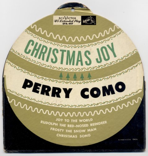 Christmas Joy (Die-Cut Tree Ornament Cover)