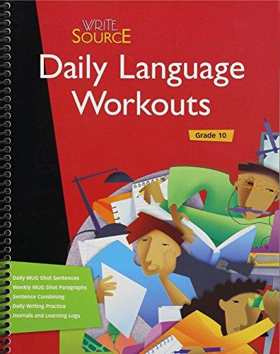 Write Source: Daily Language Workout Grade 10 (Write Language)