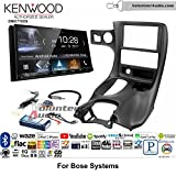 Volunteer Audio Kenwood DMX7705S Double Din Radio Install Kit with Apple CarPlay Android Auto Bluetooth Fits 1997-2004 Corvette (With Bose)