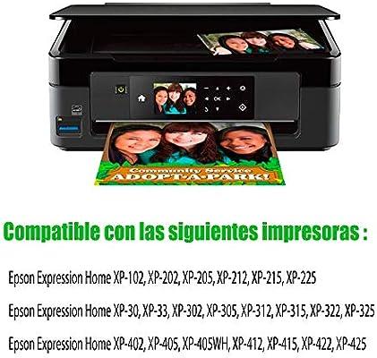 GLEGLE 18XL Compatible Tinta Cartuchos 20 Reemplazo para Epson ...