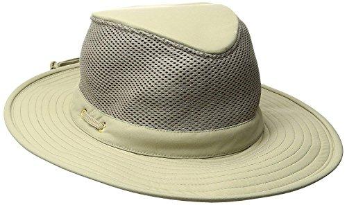 Tilley Endurables LTM8 Nylamtium Hat with Mesh (7 7/8, Khaki) from Tilley