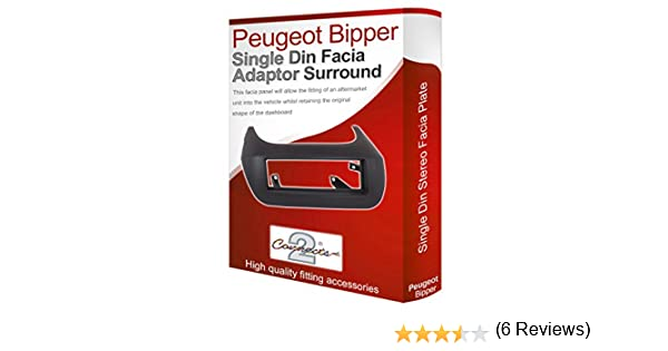 Conects2 Adaptador de Radio//Reproductor de CD para el salpicadero Peugeot Bipper