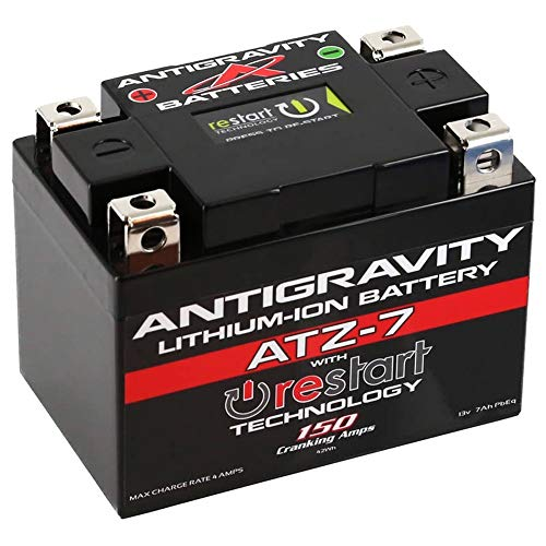 Antigravity Re-Start ATZ7-RS Lithium Battery Replaces YTX5L for Keeway Hurricane 50 07-08 ()