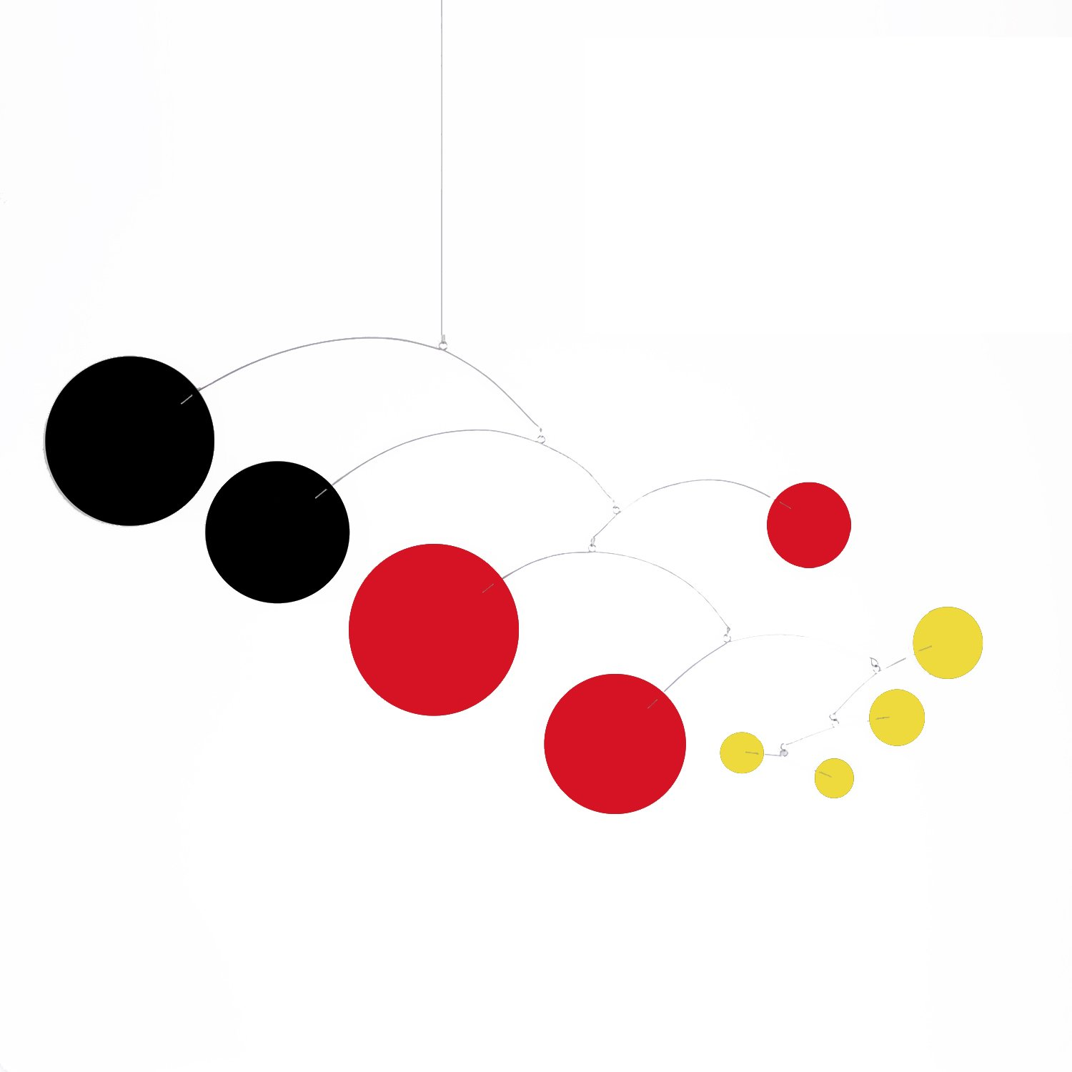 MOD Art Mobile - Choose From 3 Sizes - Calder Inspired Retro Modern Hanging Art