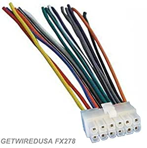 12 pin wire harness 12 pin wire harness amazon.com: dual car audio 12-pin stereo wire harness radio power plug mail back clip for xd230m ...