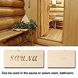 Pbzydu Manija de Puerta de Sala de Sauna, Accesorios de Suministros de Repuesto para baño de Sala de Sauna