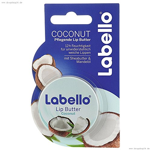 Labello Care Gloss (Labello Coconut Lip Butter 16,7 g / 19 ml / 0.59 oz)
