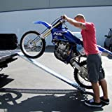 Motorcycle Ramp Dirt Bike Truck Ramp Loading Ramp Bike Ramp with Leveling Plate