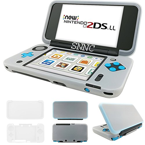 Snnc New Nintendo 2Ds Xl   2Dsll Protector Anti Scratch Hard Case Sillicon Case Accessories For Nintendo New 2Ds Xl