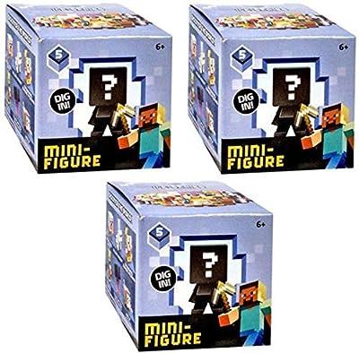 Minecraft Minifigures, Ice Series 5, 3 Pack