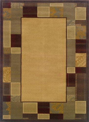 Oriental Weavers Amelia 6993Y Area Rug, 5-Feet by 7-Feet 6-Inch (Weavers Furniture Oriental)