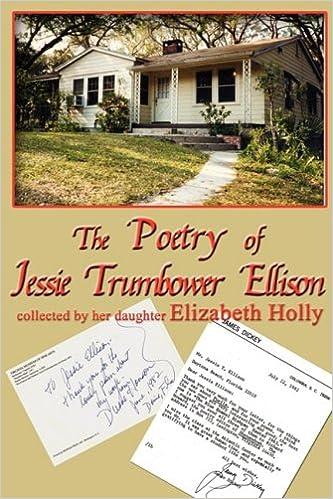 Book Poetry of Jessie Trumbower Ellison
