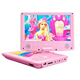 "ZESTYI 9"" Portable DVD Player for Kids with Car"