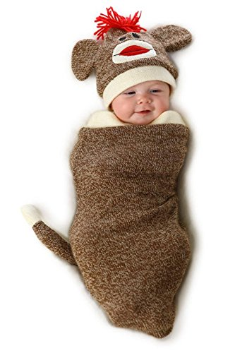 Princess Paradise Baby Marv The Monkey Deluxe Costume Swaddle, As As Shown 0/3M