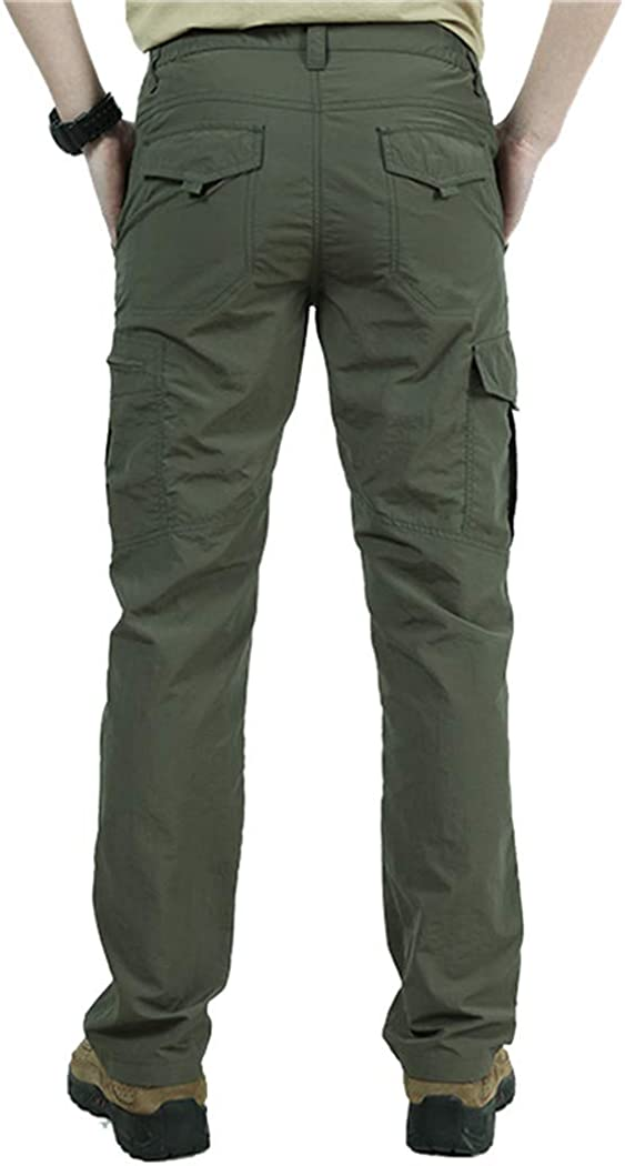 Zhaoguan Breathable Lightweight Waterproof Quick Dry Casual Pants Summer Style Trousers