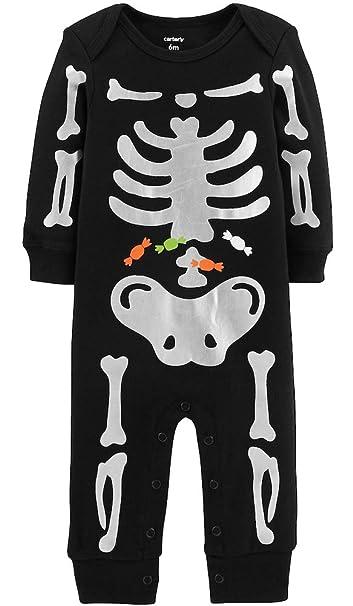 f2217ca5f36c Amazon.com  Carter s Unisex Baby Halloween Snap Romper (Baby)  Clothing