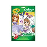 Crayola Sophia the First Colour 'N Sticker Book