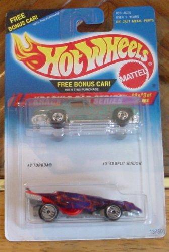 hot-wheels-krackle-car-series-2-car-pack-turboa-63-split-window-corvette