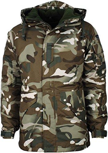 Angel Cola Men's Camouflage Hooded Weatherproof Winter Jacket Type 23 XL