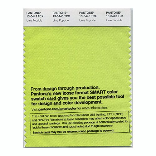 Pantone Smart Swatch 13-0443 Lime Popsicle]()