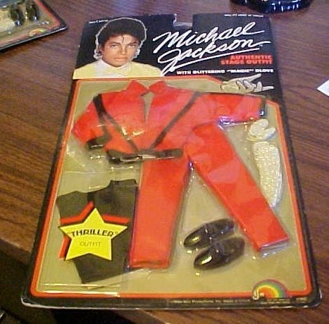 Michael Jackson Superstar of the 80's Doll Set ALL 4 Dolls - Thriller - Music Awards - Grammys - Beat it (Michael Jackson Billie Jean Outfit)