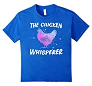 Funny Chicken Whisperer T-Shirt Hen Lover Farmer Tee