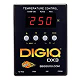 DigiQ DX3 BBQ Temperature Controller, Digital Meat Thermometer with Universal Adaptor Big Green Egg and Weber
