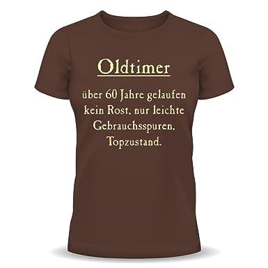 Lustige Spruche Fun Tshirt Oldtimer Kein Rost Top Zustand 60