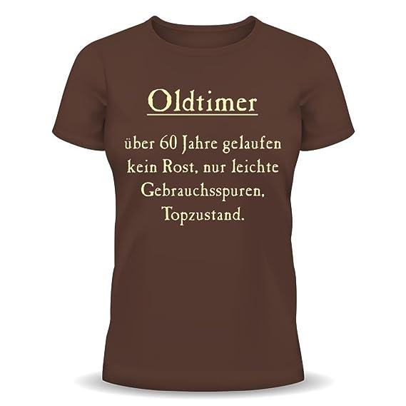 Lustige Sprüche Fun Tshirt Oldtimer Kein Rost Top Zustand 60
