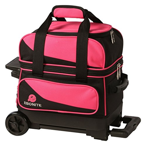 Ebonite Transport I Ball Roller Bowling Bag- Many Colors ()