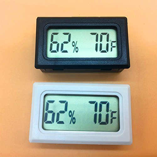 Price comparison product image Aoile Portable Mini LCD Digital Thermometer Hygrometer Temperature Humidity Instruments